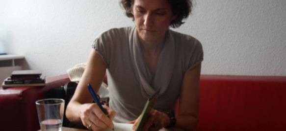 Janne Teller (fotó: Szeifert Natália)