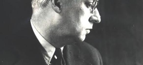 Somfai László önarcképe