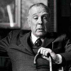 Jorge Luis Borges képe